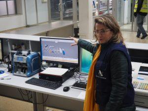 Pilar Jurado presenta el nuevo sistema de lectura automática de matrículas